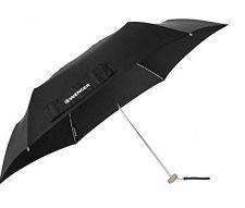 Супер легкий зонт механический Wenger W1004-black (черный)