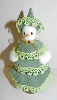 Снеговая баба, новогодний декор, ручная работа