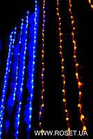 """Новая Гирлянда 320-LED штора """"Флаг Украины"""" (1,5*1,1 м)"""