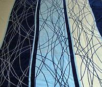 Микрофибровая простынь, покрывало ELWAY 119 полуторный размер (160*210)