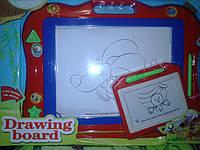 Магнитная доска для рисования с ручкой