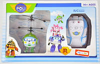 Робокар летающий на радиоуправлении Robocar Poli вертолет Хэли/ Heli