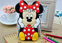Резиновый 3D чехол для Samsung Galaxy A3 A300 Minnie Mouse