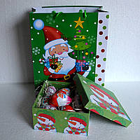 """Новогодняя подарочная коробка """"Киндер-сюрприз"""" для ребенка"""