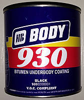 BODY 930 1kg Антикоррозийная мастика BODY (Боди)