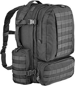 Тактический практичный мужской рюкзак 60 л. Defcon 5 Modular 60, 922259 черный