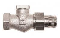 """Вентиль запорный для обратной подводки радиатора ГЕРЦ-RL-1 ,проходной, 1/2"""""""