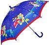 Зонт-трость облегченный детский полуавтомат AIRTON (АЭРТОН) Z1651-10 Морская прогулка
