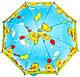 Зонт-трость облегченный детский полуавтомат AIRTON (АЭРТОН) Z1651-12 Утята, фото 2