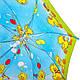 Зонт-трость облегченный детский полуавтомат AIRTON (АЭРТОН) Z1651-12 Утята, фото 4