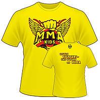 Детская спортивная футболка Berserk Sport желтый