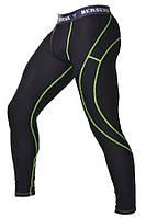 Мужские штаны с ракушкой для тренировок Berserk Sport черный/зеленый