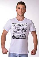 Мужская футболка из хлопка для тренировок Berserk Sport белый