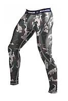 Компрессионные штаны для мужчин 100% полиэстер Berserk Sport камуфляжный
