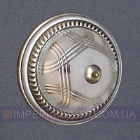 Светильник накладной, на стену и потолок IMPERIA двухламповый (таблетка) LUX-433505