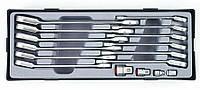 Набор ключей комбинированных FORCE 5164R трещоточных отогнутых 16 шт (8-19 мм)