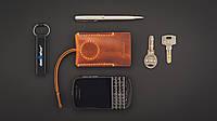 Карманная ключница для коротких ключей ручной работы (с домофонным ключом)