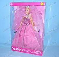 Розовая машинка Замечательная Кукла в машинке Defa 8228 Подарок стильной девочке