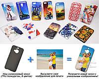 Печать на чехле для HTC One M9+ Plus (Cиликон/TPU)