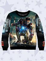 Світшот 3D Iron Man/Свитшот Железный человек