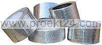 Лента алюминиевая самоклеящаяся армированная 75мм*30м.п.