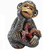 Статуэтка Обезьяна керамика
