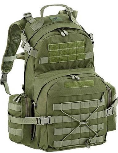 Военный практичный мужской рюкзак 55 л. Defcon 5 Patrol 55, 922228 зеленый