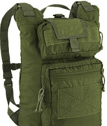 Тактический удобный мужской рюкзак 24 л. Defcon 5 Rolly Polly Pack 24, 922231 зеленый