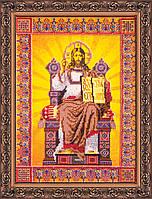 Набор для вышивания бисером икона Господь Вседержитель