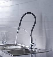 Кран для кухни встроенный Blue Water Hugo хром