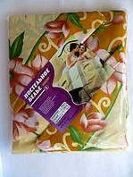 Постельное двуспальное белье с цветами