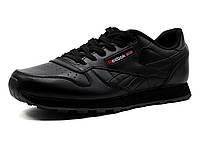 Кроссовки Reebok Classic Jogger мужские, кожаные черные, р. 41 42 43 44, фото 1