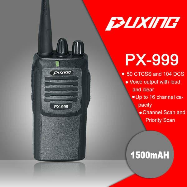 Puxing PX-999 - рация которая может больше чем кажется на первый взгляд