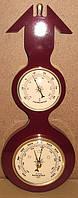 Барометр с термометром