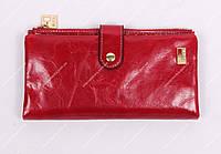 Кошелек кожаный JCCS JS1041 Красный