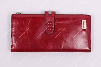 Кошелек кожаный JCCS JS1079 Красный
