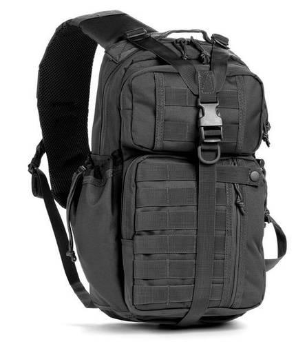 Однолямочный тактический рюкзак Red Rock Rambler Sling 16 (Black) 922167 черный