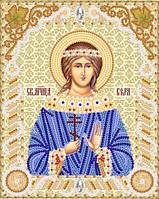 Схема икон на ткани для вышивки бисером Св. Мч. Вера РИК-5513
