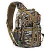 Практичный однолямочный штурмовой рюкзак Red Rock Rambler Sling 16 (Mossy Oak Break-Up) 922168 комуфляж