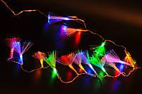 Светодиодная гирлянда нити 200 led мултицвет, уличные гирлянды