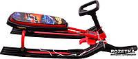 Снегокат Bambi Hot Wheels MS 0890 красный  и синий