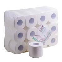 Туалетная бумага белая бытовой рулон Mirus VIP 3-х слойная целлюлоза