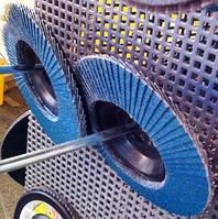 Круг тарельчатый лепестковый Клингспор Klingspor  по алюминию