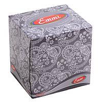 Косметическая салфетка Cube 3-х слойная 80шт в коробке КУБ