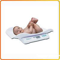 Весы для детей и новорожденных, электронные Momert 6475 (20кг/5г)