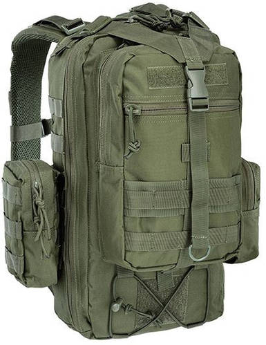 Армейский надежный рюкзак 25 л. Defcon 5 Tactical One Day 25, 922252 зеленый