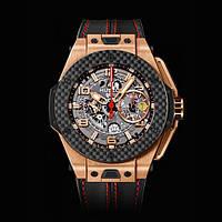 Часы мужские Hublot Big Bang Ferrari Black Gold