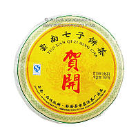 Чай пуэр прессованный Шен Хэ Кхай 2013 года 357г
