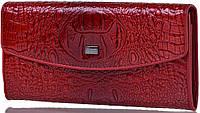 Оригинальный и солидный кошелек из натуральной кожи с фактурой под рептилию WANLIMA (ВАНЛИМА) W7204242083 кр