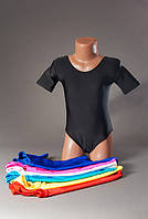 Купальник для гимнастики и танцев без юбки на возраст 2-12 лет.